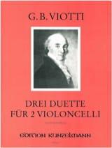 3 Duette VIOTTI Partition Violoncelle - laflutedepan