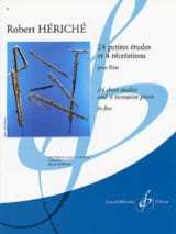 Robert Hériché - 24 Small Studies and 4 Recreations - Sheet Music - di-arezzo.com