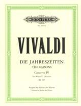 Concerto L'inverno op. 8 n° 4 RV 297 VIVALDI laflutedepan.com