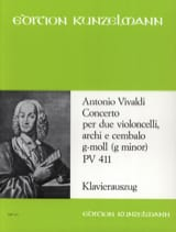 VIVALDI - Concerto G-Moll Pv 411 - Sheet Music - di-arezzo.co.uk