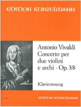 VIVALDI - Concerto op. 3 n ° 8 - 2 Violinen Klavier - Sheet Music - di-arezzo.co.uk