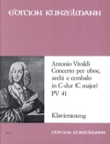 VIVALDI - Concerto for oboe in C-Dur PV 41 F. 7 No. 6 - Oboe Klavier - Sheet Music - di-arezzo.com