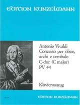 Concerto per oboe in C-Dur Pv 44 F. 7 n° 4 -Oboe Klavier laflutedepan.com