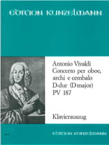 Concerto per oboe D-Dur PV 187 –Oboe Klavier laflutedepan.com