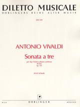 Sonata a tre B-Dur op. 5 n° 5 - Antonio Vivaldi - laflutedepan.com