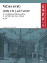 Sonata a tre g-moll op. 5 n° 6 –2 Violinen Bc - laflutedepan.com