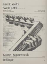 VIVALDI - Sonata g-Moll op. 2/1 - Partition - di-arezzo.fr