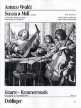 VIVALDI - Sonata n° 3 a-Moll - Partition - di-arezzo.fr