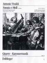 Sonate Nr. 5 E-Moll Antonio Vivaldi Partition Duos - laflutedepan.com