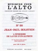 Jean-Paul Holstein - Playing a Saut-Croches N ° 2 - Sheet Music - di-arezzo.co.uk