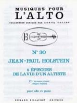 A Contre-Chant (N°4) - Jean-Paul Holstein - laflutedepan.com