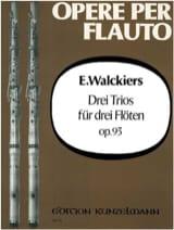 3 Trios op. 93 - Eugene Walckiers - Partition - laflutedepan.com