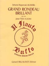 Grand rondeau brillant op. 126 – Flûte piano - laflutedepan.com