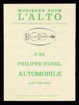 Altomobile Philippe Hurel Partition Alto - laflutedepan.com