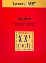 Carignane - Jacques Ibert - Partition - Basson - laflutedepan.com