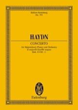 Joseph Haydn - Concerto D Dur Hob. XVIII/11 - Partition - di-arezzo.fr