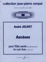 André Jolivet - asceticism - Sheet Music - di-arezzo.co.uk