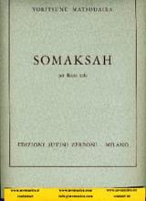 Somaksah Yoritsuné Matsudaira Partition laflutedepan.com