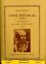 Symphonie n° 2 en ré majeur Muzio Clementi Partition laflutedepan.com