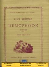 Démophoon, ouverture Luigi Cherubini Partition laflutedepan.com