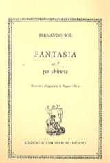 Fernando Sor - Fantasy op. 7 - Sheet Music - di-arezzo.co.uk