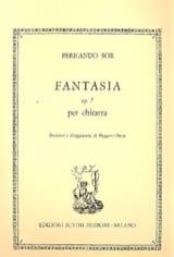Fantaisie op. 7 - Fernando Sor - Partition - laflutedepan.com