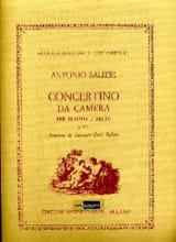 Antonio Salieri - Concertino da camera – Partitura - Partition - di-arezzo.fr
