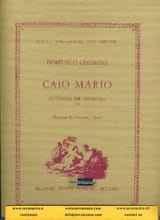 Domenico Cimarosa - Caio Mario (Opening) - Sheet Music - di-arezzo.co.uk