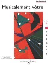 Musicalement Vôtre Volume 1 Jean-Clément Jollet laflutedepan.com