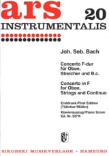 Konzert F-Dur – Oboe Klavier - laflutedepan.com