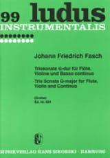 Triosonate G-Dur – Flöte Violine und Bc - laflutedepan.com