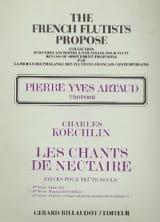 Les Chants de Nectaire - 2ème Série Charles Koechlin laflutedepan.com