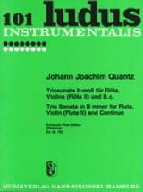 Triosonate h-moll - Flöte, Violine Flöte 2 u. Bc laflutedepan.com