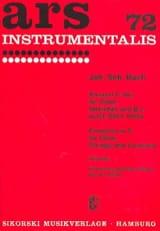 Konzert C-Dur - Oboe Klavier BACH Partition laflutedepan.com