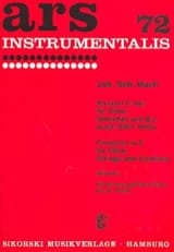 BACH - Konzert C-Dur - Oboe Klavier - Partitura - di-arezzo.es