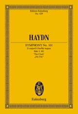 Sinfonie Nr. 101 B-Dur L' Horloge - Conducteur HAYDN laflutedepan