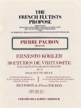 30 Etudes de virtuosité op. 75 - Volume 2 laflutedepan.com