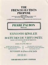 30 Etudes de virtuosité op. 75 – Volume 3 - laflutedepan.com