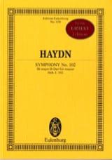 Symphonie N° 102 en Si B Majeur - Joseph Haydn - laflutedepan.com