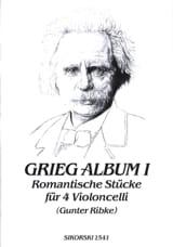 Grieg-Album - Volume 1 Edvard Grieg Partition laflutedepan.com