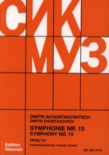Symphonie Nr. 15 op. 141 – Partitur - laflutedepan.com
