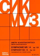 Symphonie Nr. 14 op. 135 – Partitur - laflutedepan.com