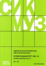 Streichquartett Nr. 15 op. 144 - Stimmen laflutedepan.com