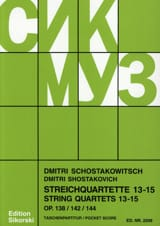 Streichquartette Nr. 13-15 – Partitur - laflutedepan.com
