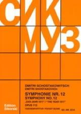 Symphonie Nr. 12 op. 112 – Partitur laflutedepan.com
