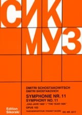 Dmitri Chostakovitch - Symphonie Nr. 11 op. 103 – Partitur - Partition - di-arezzo.fr
