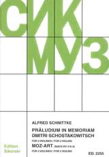 Präludium in memoriam Dmitri Schostakowitsch / Moz-Art - laflutedepan.com