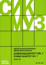 CHOSTAKOVITCH - Streichquartett Nr. 7 op. 108 - Stimmen - Sheet Music - di-arezzo.co.uk