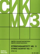 CHOSTAKOVITCH - Streichquartett Nr. 11 op. 122 - Stimmen - Sheet Music - di-arezzo.co.uk