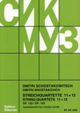 Streichquartette Nr. 11+12 – Partitur - laflutedepan.com